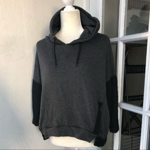 ZARA | black and gray hoodie
